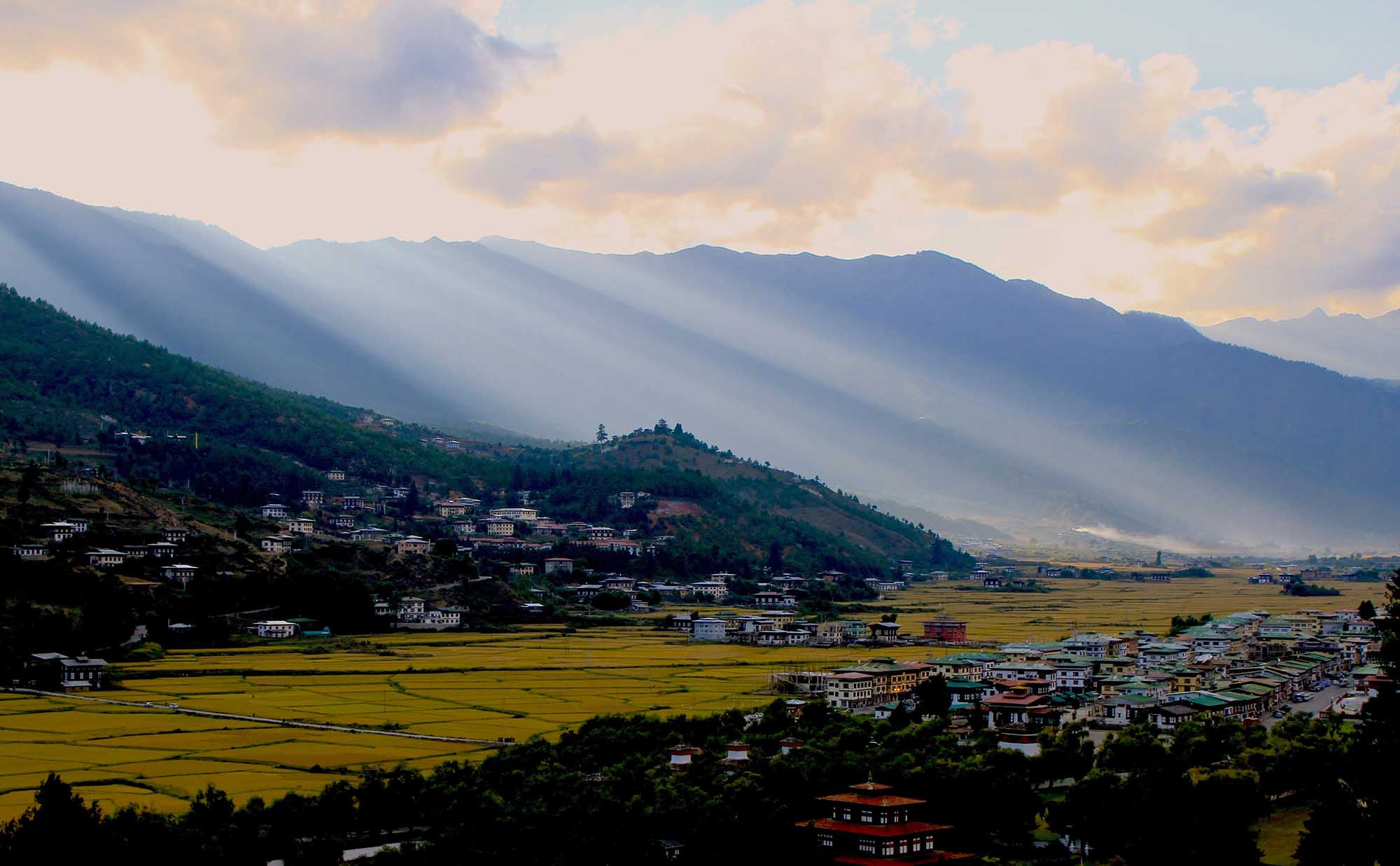 Climate in Bhutan