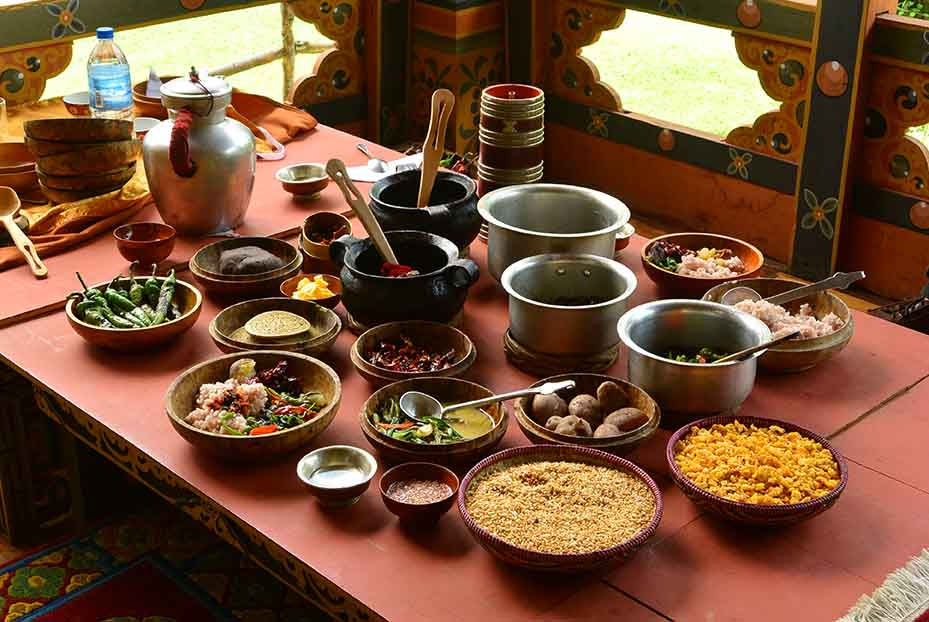 Crusines of Bhutan